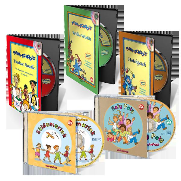 Comptines et chansons en anglais pour enfants