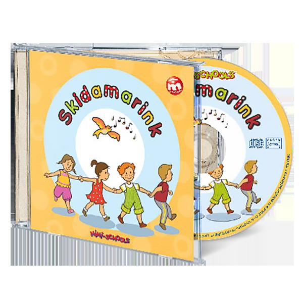 Cd de chansons et comptines en anglais pour enfants