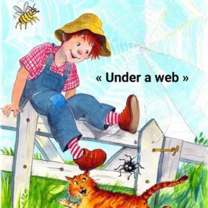 """""""Under a web"""" chanson d'Halloween en anglais pour enfants"""